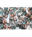 BI-BO Beads Aqua Capri Gold 5,5x2,8mm - 10gr