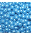 Czech Glass Round Beads Powdery Light Blue 3mm -1200pcs