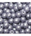 Czech Glass Round Beads Powdery Lilac 4mm -1200pcs