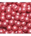 Czech Glass Round Beads Powdery Bordeaux 4mm -1200pcs