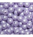 Tondi Vetro di Boemia Powdery Pastel Purple 4mm - 1200pz