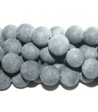 Black Stone Rounds - Matte Finish 10mm - 38pcs