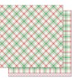 Donner - Perfectly Plaid Christmas Collection - Lawn Fawn - 30x30cm - 1pz