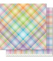 Lollipop - Perfectly Plaid Rainbow Collection - Lawn Fawn - 30x30cm - 1sheet