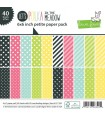 Let's Polka In The Meadow Collection Petite Pack - Lawn Fawn - 15x15cm - 40 sheets
