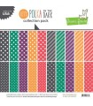 Let's Polka In The Dark Collection Pack - Lawn Fawn - 30x30cm - 1sheet