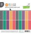 Let's Polka In The Dark Collection Petite Pack - Lawn Fawn - 15x15cm - 40 sheets