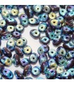 Superduo Beads Jet Full AB  5x2,5mm - 10gr