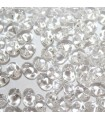 Superduo Beads Crystal 5x2,5mm - 100gr