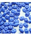 Superduo Beads Neon Blue 5x2,5mm - 10gr