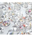 Superduo Beads Crystal AB 5x2,5mm - 10gr