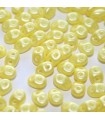 Perline Superduo Pearl Shine Yellow 5x2,5mm - 100gr