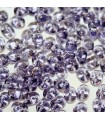 Perline Superduo Tanzanite 5x2,5mm - 10gr