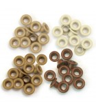 Eyelets Brown for Crop-A-Dile - 0,5cm Hole - We R Memory Keepers - 60pcs