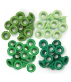 Eyelets Green for Crop-A-Dile - 0,5cm Hole - We R Memory Keepers - 60pcs