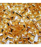Perline Hexagon Toho Silver Lined Light Topaz 11/0 - 10gr