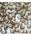 Superduo Beads Halo-Linen 5x2,5mm - 10gr
