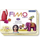 Fimo Soft Kit 12 colors x 57gr - Collection Box