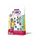 Fimo Soft Jewellery Pack Colored Squares
