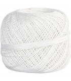 Mercerized Cotton Yarn - White - 20 gr