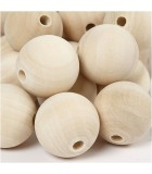 Wooden Beads 16mm - 18pcs