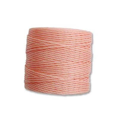 Super-Lon Bead Cord Coral Pink 0,5mm - 70mt