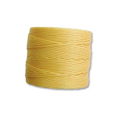 Super-Lon Bead Cord Golden Yellow 0,5mm - 70mt