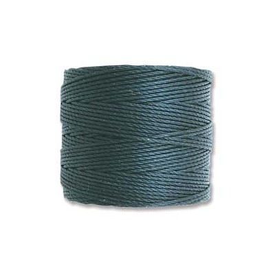 Super-Lon Bead Cord Dark Teal 0,5mm - 70mt