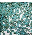 Perline Matubo Blue Turquoise-Picasso Silver 7/0 - 10gr