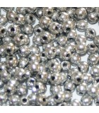 Czech Glass Round Beads - Silver 2mm -150pcs
