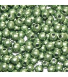 Tondi Vetro di Boemia Saturated Metallic Greenery 2mm - 1200pz