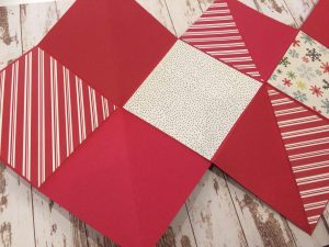 decorare la base con le carte scrap